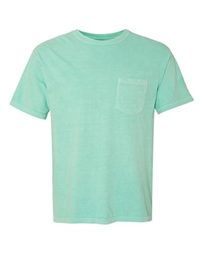 Falcon Bay/P J Big and Tall Big and Tall Color Pocket T Shirts 11 Colors up to 10X (7X/8X Big, Aqua) - Falcon Bay Big And Tall T-shirt
