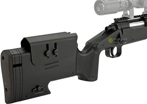 Pack complet Airsoft M62 Sniper Double Eagle/Sniper à Ressort/métal-ABS/Rechargement Manuel (0.5 Joule)-Livré avec… 5