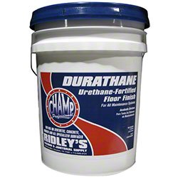 CHAMP Champ Durathane Urethane-Fortified Floor Finish - 5 Gal.