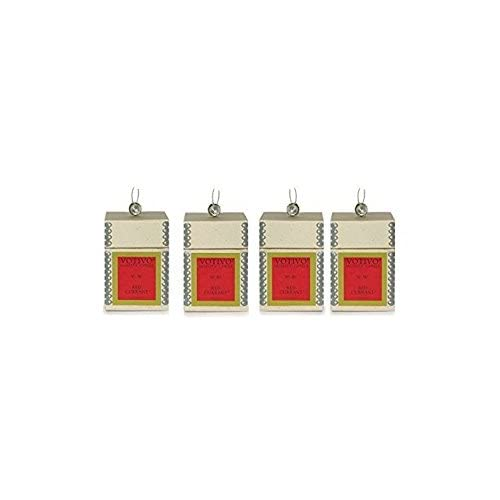Image of Votivo Red Currant Aromatic Candle - 4 Pack Home and Kitchen