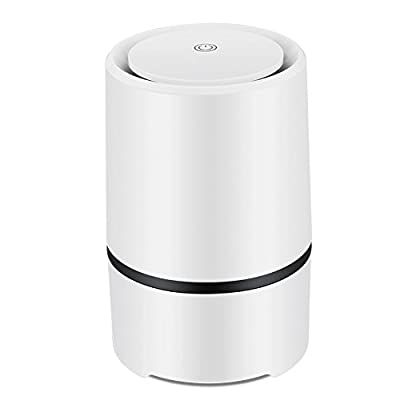 Portable Air Purifier Air lonizer USB Mini Air Cleaner True Hepa Homes Purifier Remove Cigarette Smoke Odor Smell Bacteria