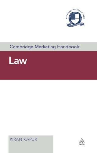 Cambridge Marketing Handbook: Law (Cambridge Marketing Handbooks) Pdf
