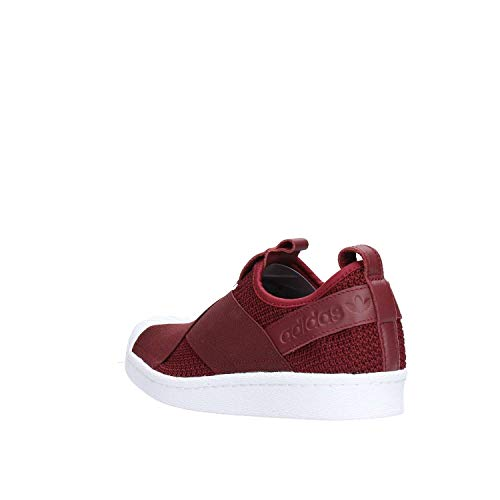 adidas White 0 Night Mujer Footwear Rojo Superstar Zapatillas Red Red Slip On para Night 7xwH7vrqO