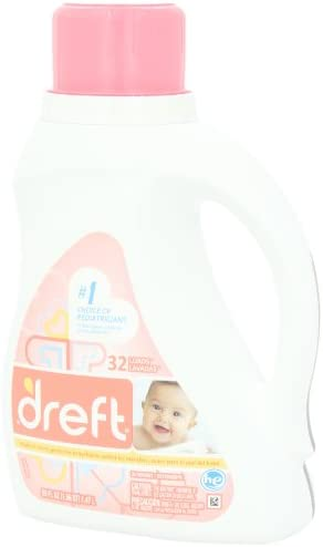 31V0jYYmVNL. AC - Dreft Stage 1: Newborn Liquid Laundry Detergent (HE),Natural For Baby, Newborn, Or Infant, 50 Oz, 32 Loads