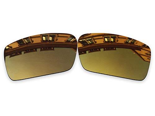 Vonxyz Lenses Replacement for Oakley Gascan Sunglass - Bronze MirrorCoat Polarized (Bronze Gascan Oakley Lenses)