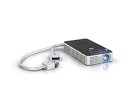 PHILIPS - PicoPix Fun PPX4350 I Proyector Portátil 1080p |Altavoz ...