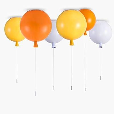 GL Modern Ceiling Light Flush Mount LED Pendant Lamp Fun DIY Balloon Light for Kids Room Bedroom Living Room Girls Room Boys Room