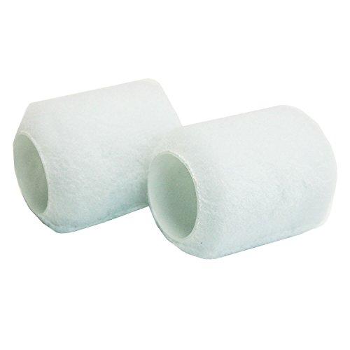 Shur-Line 3410C Mini Roller Cover, 3/8 In Nap, 3 In L Plastic Core, Refill, 2-Pack ()