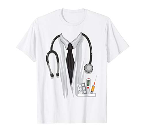 Doctor Halloween Costume Shirt - Great Nurse Outfit Gift Tee ()