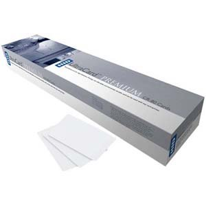 Ultracard 10 Mil, Adhesive Paper-Backed Cards, Cr-79 - 500 Cards Per Box by HID FARGO