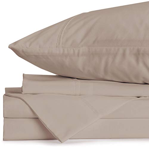 Jennifer Adams Home Eternal Split King Sheet Set (Adjustable King, Taupe)