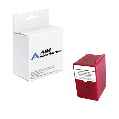 AIM Compatible Replacement for Innovera IVR7935 Red Postage Meter Inkjet - Compatible to Pitney Bowes 793-5 - Generic