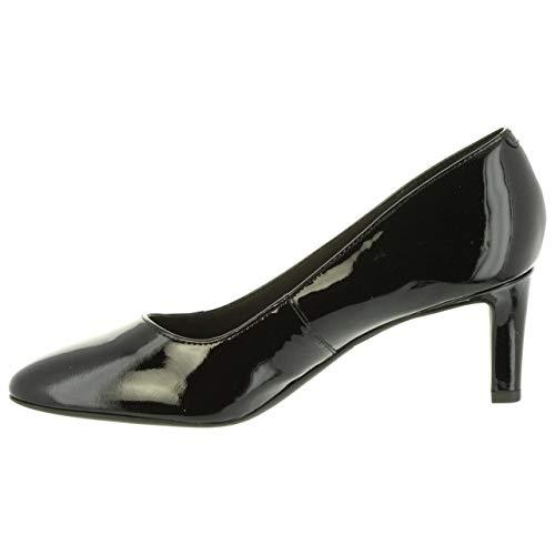 Escarpins Pat 26132244 Pour Calla Black Clarks Lea Noir Femme RqdCzxCwfY
