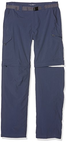 Columbia Men's Silver Ridge Convertible Pants, Zinc, 32 x 34 (Outdoor Four Classics Light)