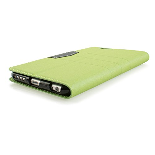 Nice Style Apple iphone 5 Case cover, Apple iPhone 5 Green Designer Style Wallet Case Cover