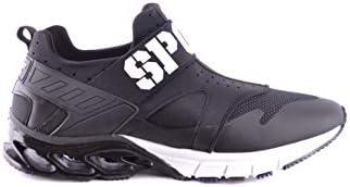 メンズ MSC0912STE003N02 ブラック ポリエステル 運動靴