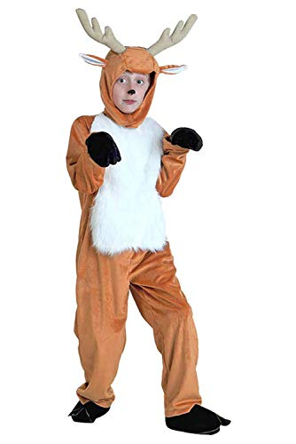Kids Christmas Fawn Cosplay Costumes Xmas Halloween Party Animals Performance Costumes]()