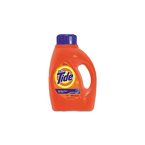 Proctor & Gamble Pro Line Tide 2X Liquid Laundry Detergent, 50 oz Bottle, 6 Bottles Per Case