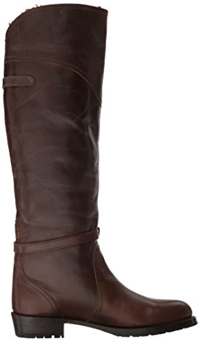 US 7 Frye Lug 5 Brown Women's Boot Dorado Riding Dark M w46x470qZv