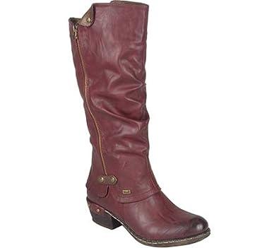 Stylish Appearance Women's Boots Rieker Bernadette 55 Cayenne Schoko
