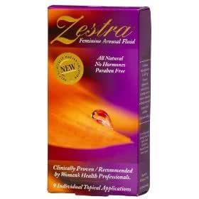 Zestra Feminine Arousal Fluid - 9 Foil Packets