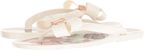 Ted Baker Kvinders Suszie Flip-flop Hvid Syntetisk QSCeg
