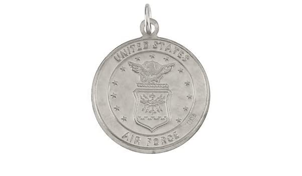 Christopher Reversible US Army Medal Kevin Jewelers Sterling Silver St