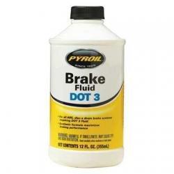 Niteo Products PYBF12 12 oz Plastic Bottle Brake Fluid
