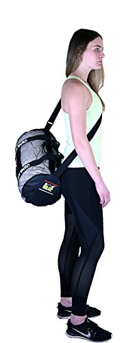 Grip Power Pads Mesh Gear Bag Multipurpose Boxing Beach Scuba Diving   More  Adjustable Shoulder Strap 8e2a7b1923eb0