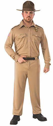 Rubie's Men's Standard Stranger Things Adult Jim Hopper Costume, Multi Colored, Standard]()