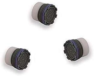 Conf. 3 pi/èces . Kit trois pi/èces a/érateur pour robinet escamotable 16 x 1 m brise-jet filtre filtre filtre filtre
