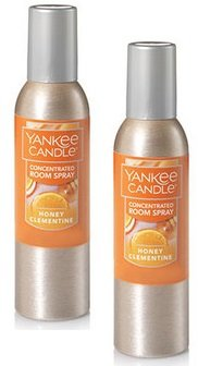 Yankee Candle 2 Pack Honey Clementine Concentrated Room Spra