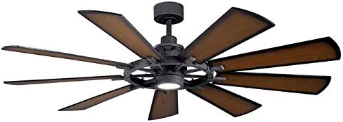 Kichler 300265DBK Gentry 65″ Ceiling Fan