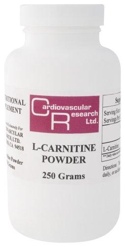 Ecological Formulas / Cardiovascular Research - L-Carnitine Powder, 250 g powder