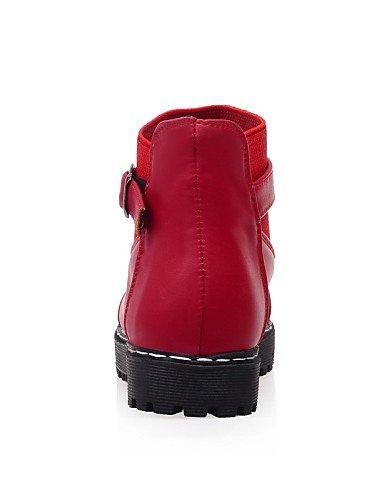 Uk6 Mujer Botas Casual Redonda Eu36 De Punta us8 La Uk4 Vestido Moto Xzz Anfibias U Yellow Moda us6 A Plataforma Cn36 Red Zapatos Cn39 Eu39 EwxIOqfT