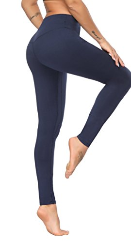 ee3d6e2f94325 KAYVEN MAS Mesh Leggings, High Waist Yoga Pants Tummy Control Workout  Running 4 Way Stretch