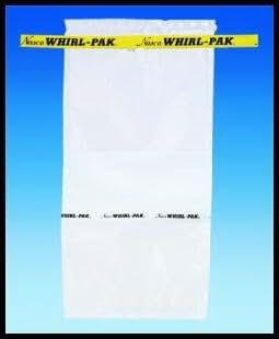 Amazon.com: whirl-pak ® estéril bolsas 3 x 5 inch (500/caja ...