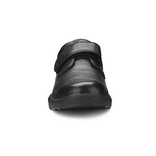 Dr. Comfort William-X Men's Therapeutic Diabetic Extra Depth Shoe: Black 10 X-Wide (XW/6E) Velcro by Dr. Comfort (Image #3)