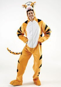 Tigger Disney Men's Fancy Dress Costume Extra Large by Rubies Costume Co ()
