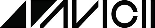 Avicii Logo Wall Decals - DJ/Producer for House Music, Electronic Music, Deep Festival, Festivals Clubs Vinyl Art Decal Stickers for Boys Girls House, Bedroom, Kitchen Wall Decoration Size (4x10 inch)