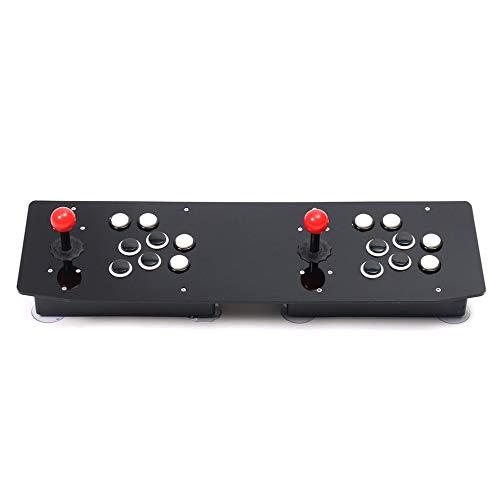 JIAIIO Ergonomic Design Double Arcade Stick Video Game Joystick Controller Gamepad for Windows PC Enjoy Fun ()