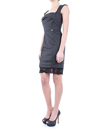 Mangano Bensheim Grigio Donna Scollato Corto Vestito Party Elegante 40 40 Vestitino Woman Abito drees Sexy 8qTY0Ww