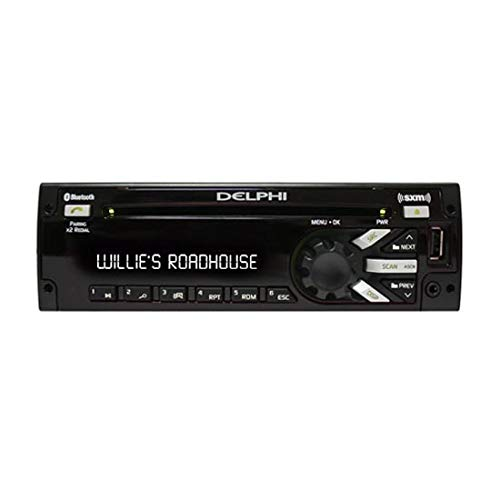 (Delphi Heavy-Duty AM/FM/MP3/WMA/WB/CD Player With Front Panel USB Port)