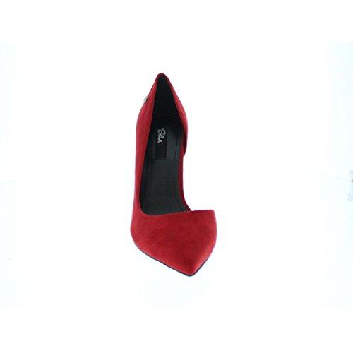 YourDezire - Zapatillas para mujer Rojo Red/Suede 7E7abuV