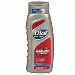 Dial pour hommes magnétique Body Wash phéromone infusée, 16 oz (Pack de 3)