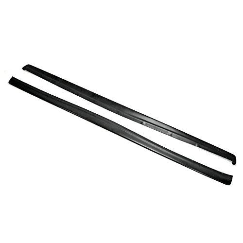 - Carbon Fiber For MITSUBISHI Evolution Evo 7 8 9 Dad Style Side Skirt Extensions (185cm)