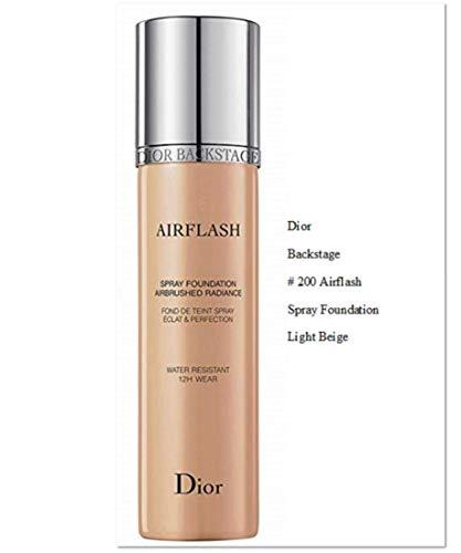 - Dior Backstage Airflash spray foundation 200 light beige