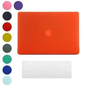 """GONGXI- Hard Case Superficie Helada Diseño PC con la cubierta del teclado de la piel para MacBook Retina (colores surtidos) , Verde , 13.3"""""""