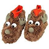 Arthur Christmas Reindeer Feet Light-up Shoe Covers for Kids 3 -6 Years Old
