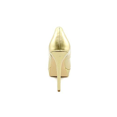 Exchange By Charles David Taffy Women US 8.5 Gold Platform Heel e0WJD4G28a
